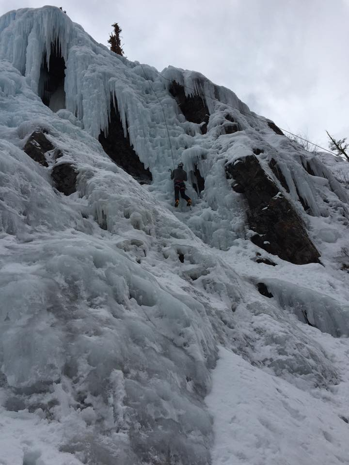 More Ouray CO. ice, WI2 - 3ish.